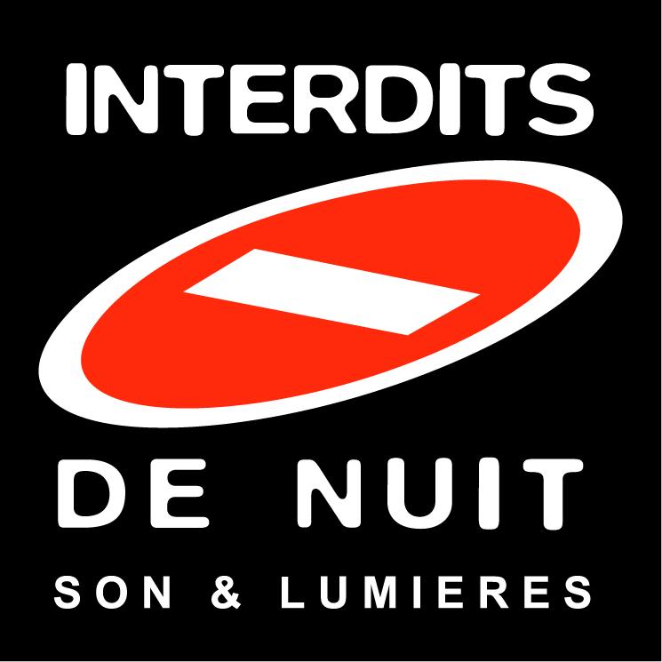free vector Interdits de nuit 0