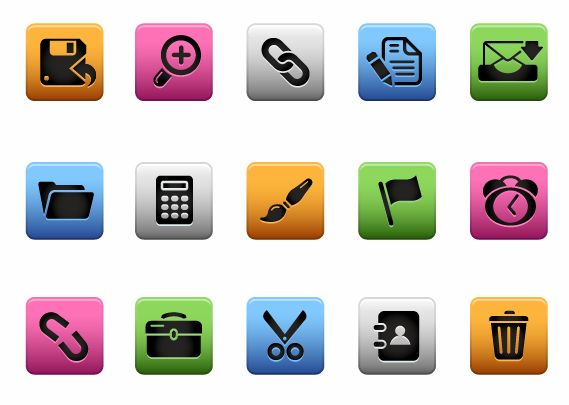 free vector Interface Icons Vector