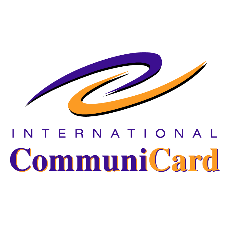 free vector International communicard