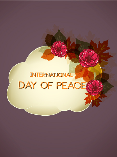 free vector International Day of Peace Vector