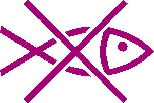free vector International Maritime No Fishing Area clip art