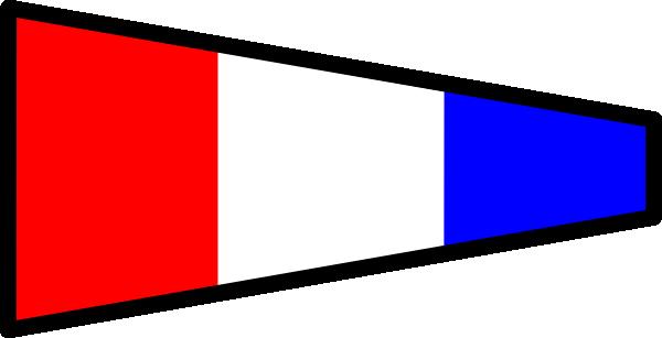 free vector International Maritime Signal Flag 3 clip art