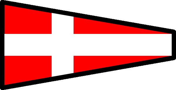 free vector International Maritime Signal Flag 4 clip art