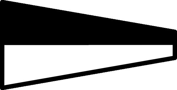 free vector International Maritime Signal Flag 6 clip art