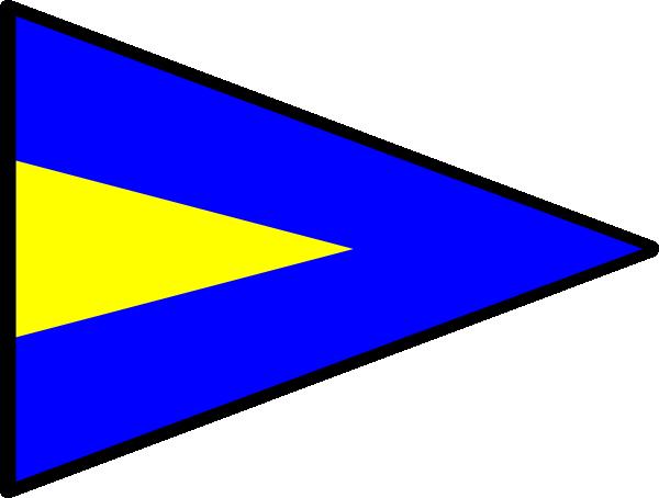 free vector International Maritime Signal Flag Repeat 1 clip art
