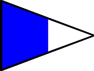 free vector International Maritime Signal Flag Repeat 2 clip art