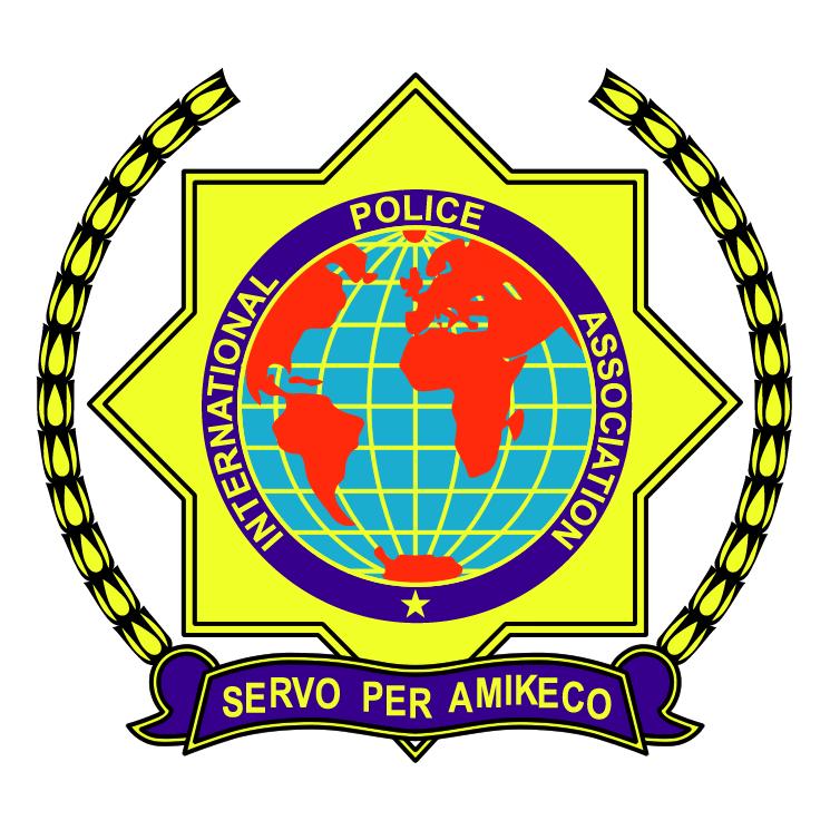 free vector International police assosiation