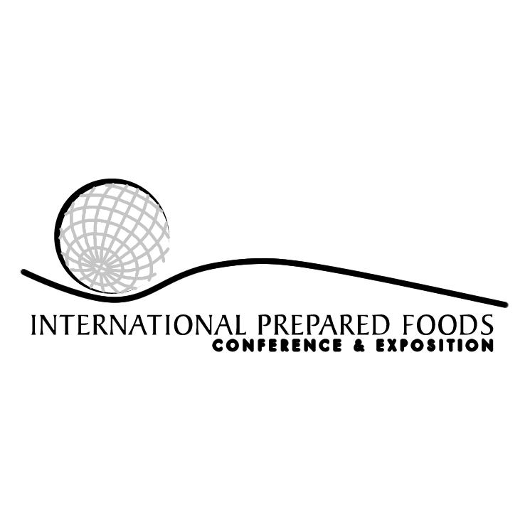 free vector International prepared foods