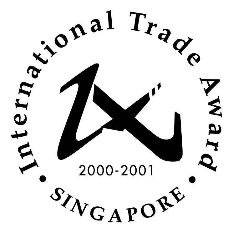 free vector International trade award