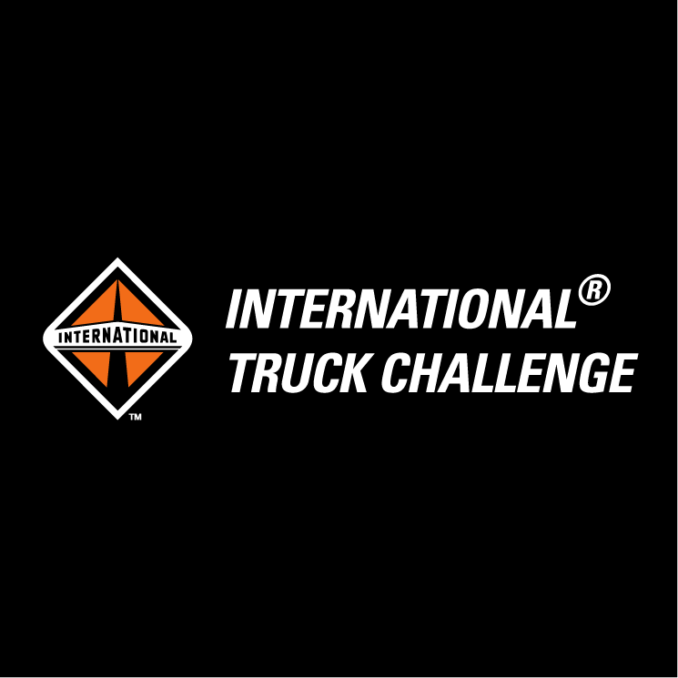 free vector International truck challenge