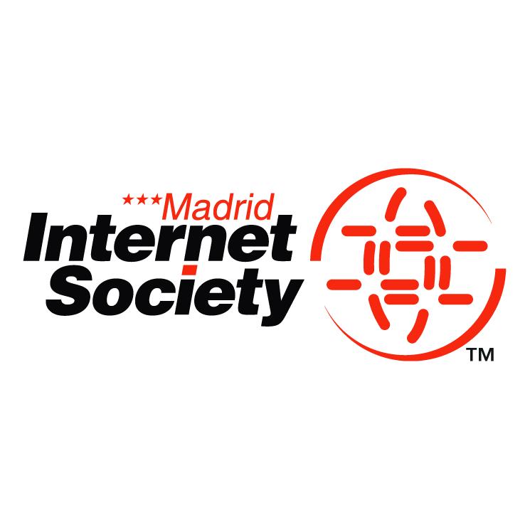free vector Internet society madrid chapter
