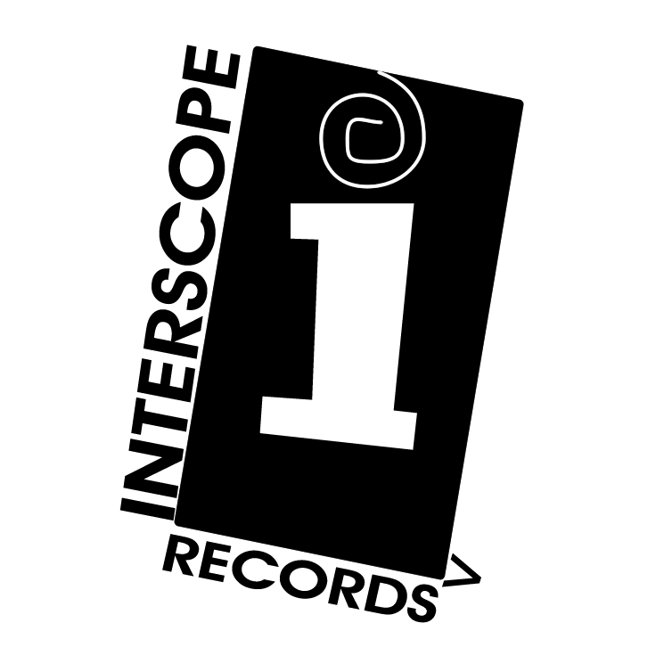 free vector Interscope records