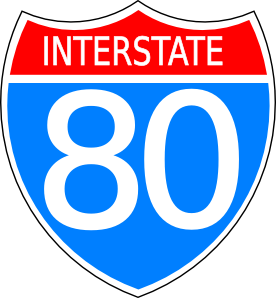 free vector Interstate Highway Sign clip art