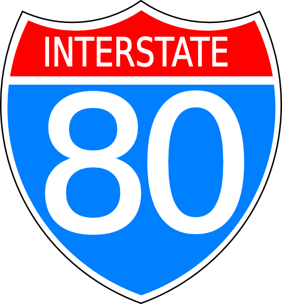 free vector Interstate Highway Sign clip art