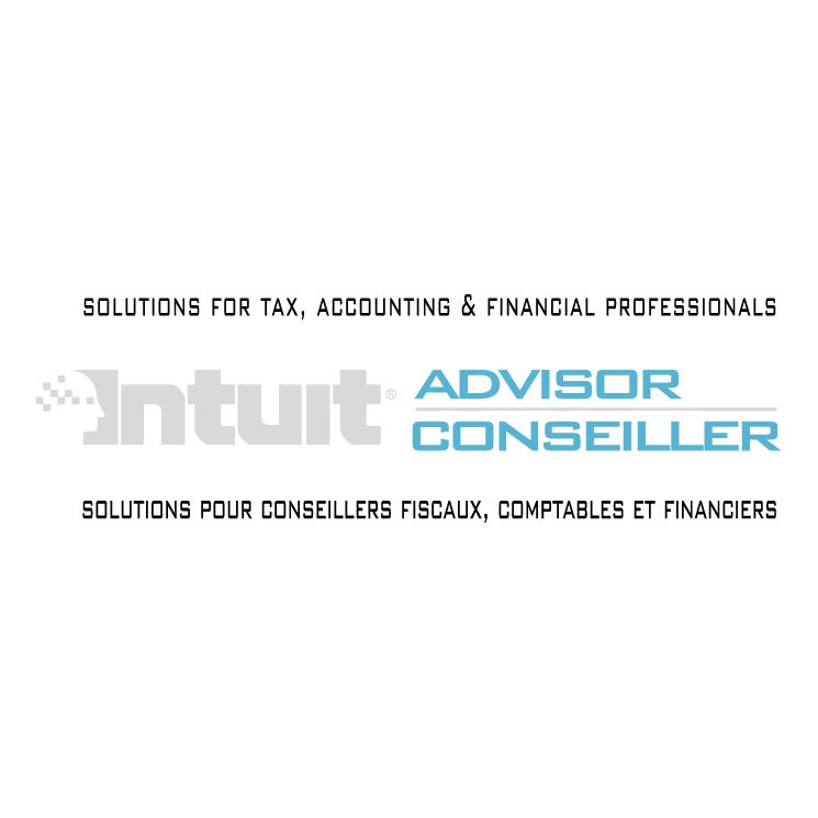 free vector Intuit advisor conseiller