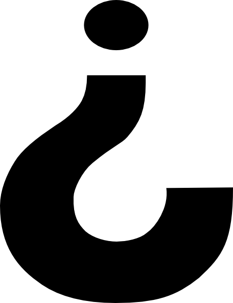 free vector Inverted Question Mark clip art