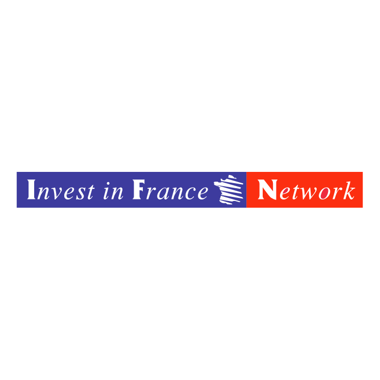 free vector Invest in france network