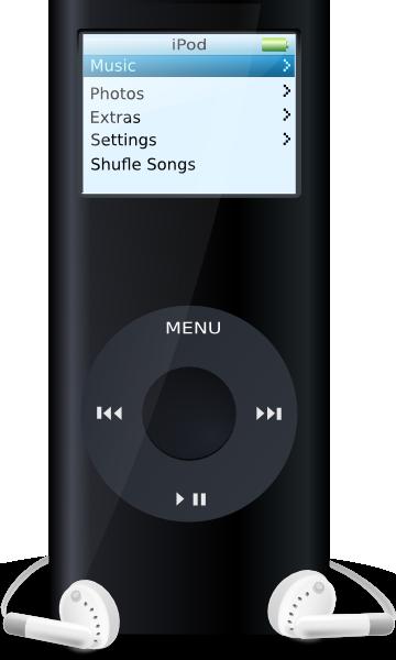 ipod clip art free vector 4vector rh 4vector com ipod clip art black and white apple logo clip art