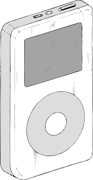 free vector Ipod clip art