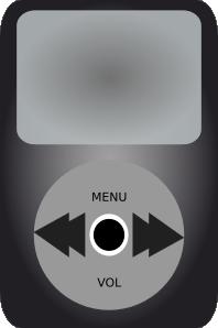 free vector Ipod Music Player clip art