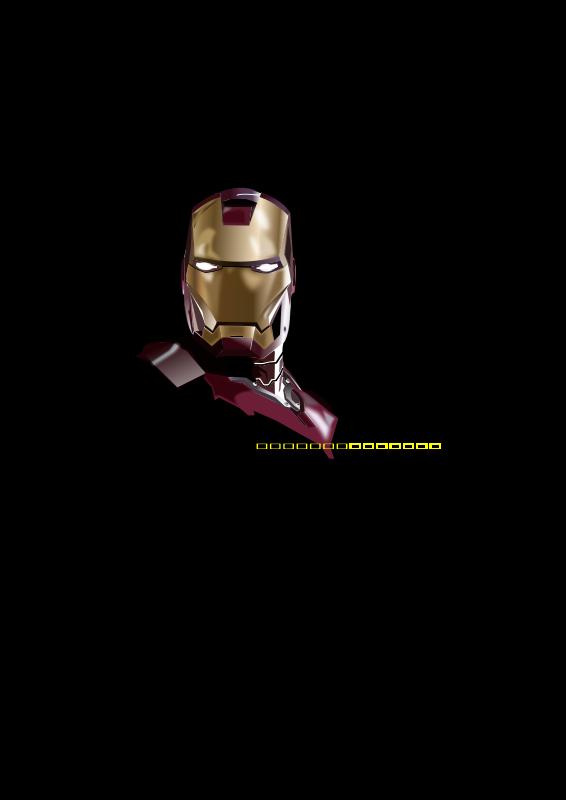 free vector Iron 'Vetor' Man