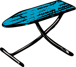 free vector Ironing Board clip art