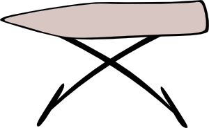 free vector Ironing Board clip art