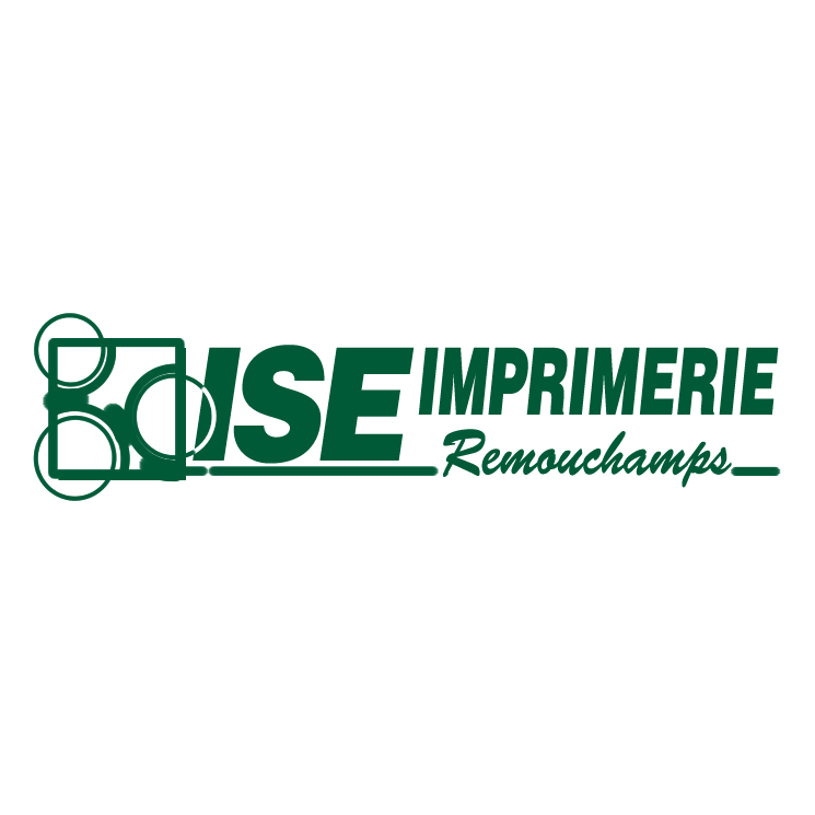 free vector Ise imprimerie remouchamps