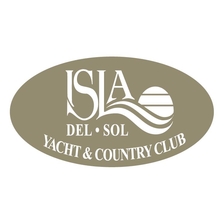 free vector Isla del sol
