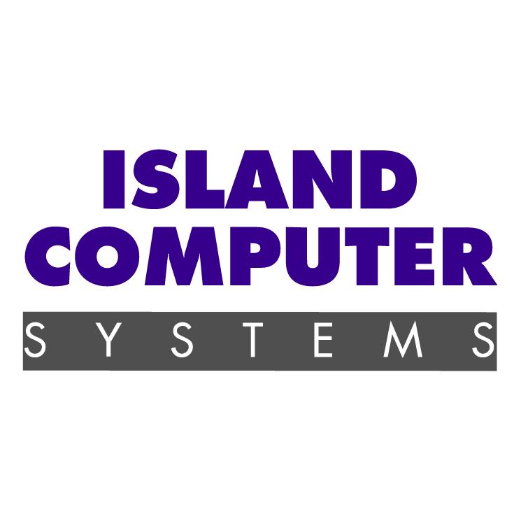 free vector Island computer