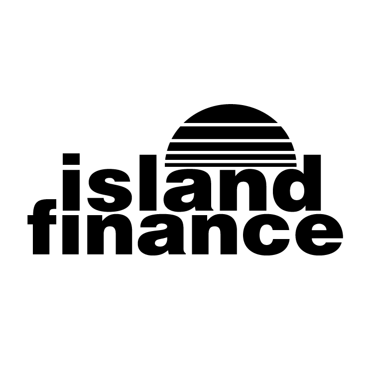 free vector Island finance