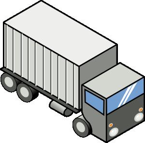 free vector Iso Truck clip art