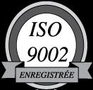 free vector ISO9002 enregistree logo