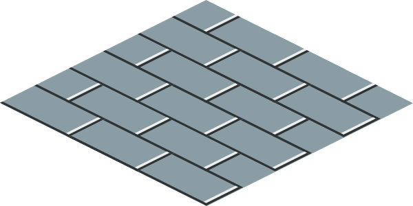 free vector Isometric Floor Tile clip art