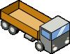 free vector Isometric Truck clip art