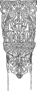 free vector Italian Column clip art
