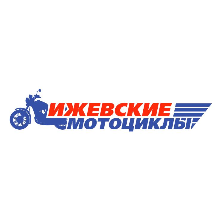 free vector Izh moto
