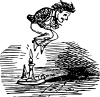 free vector Jack Be Nimble clip art
