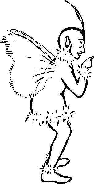 free vector Jack Frost clip art