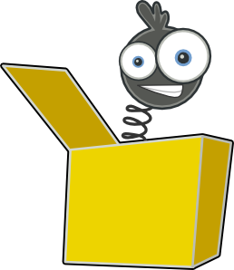 free vector Jack In The Box clip art