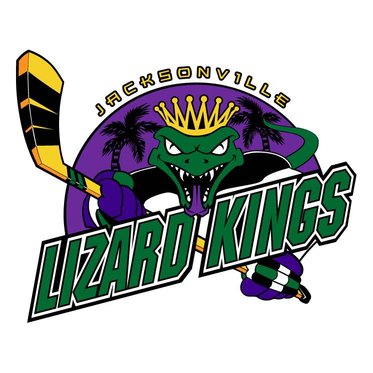 free vector Jacksonville lizard kings