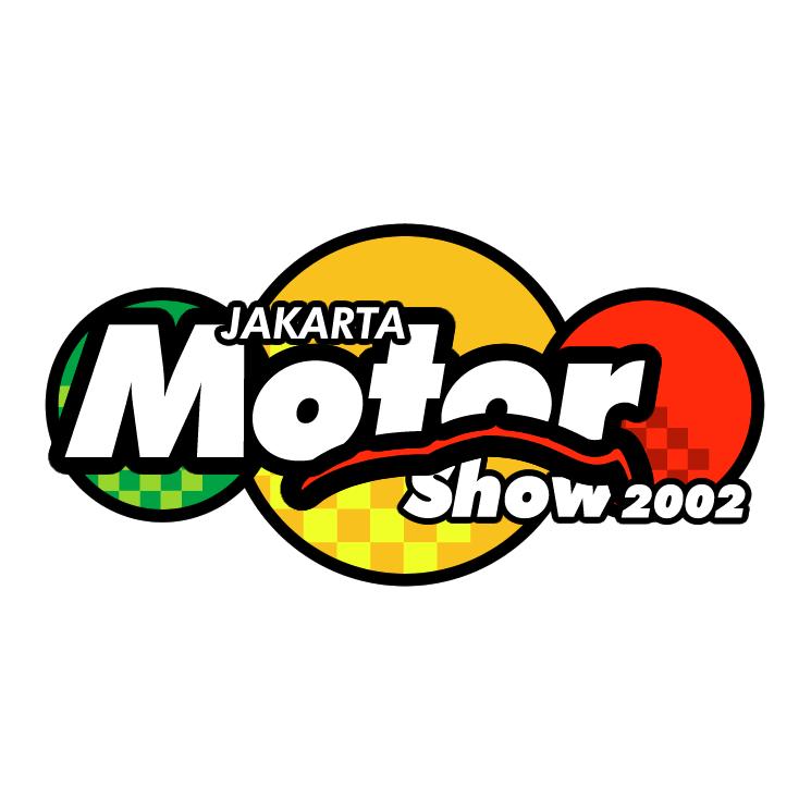 free vector Jakarta motor show 2002