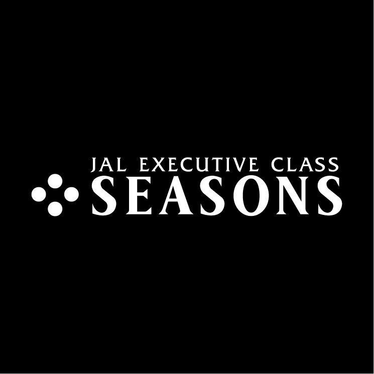 free vector Jal executive class seasons