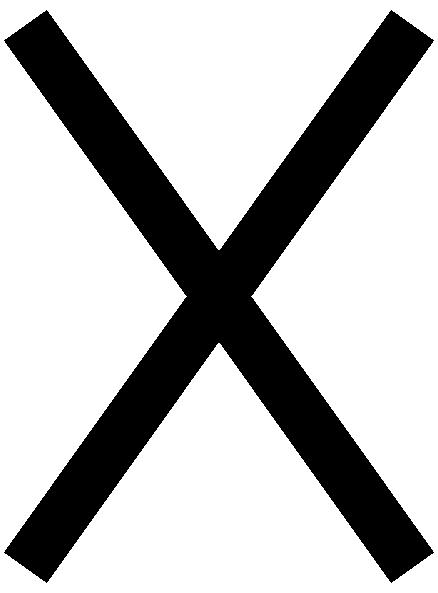 Japanese Map Symbol Koban Clip Art Free Vector 4vector