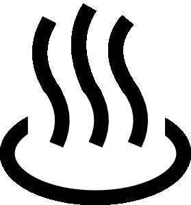 free vector Japanese Map Symbol Spa clip art