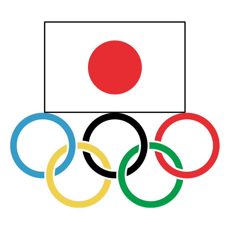 free vector Japanese olympic committee