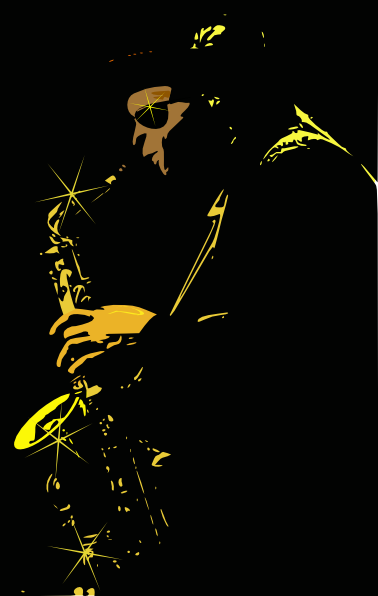 free vector Jazz Music Player clip art