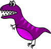 free vector Jazzynico Dino Simple T Rex clip art