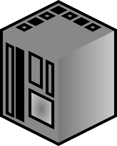 free vector Jcartier Central Computer clip art