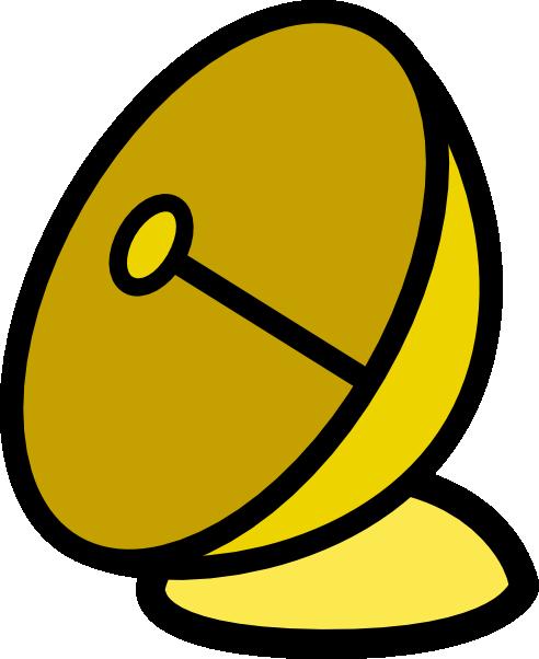 free vector Jcartier Parabolic Antenna clip art